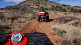 All Terrain Vehicle rider Stock Images