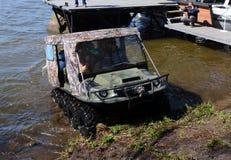 An all-terrain vehicle Tiger 8x8. Stock Photos