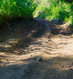 All Terrain Vehicle Track Royalty Free Stock Image