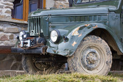 All-terrain vehicle, UAZ Royalty Free Stock Images