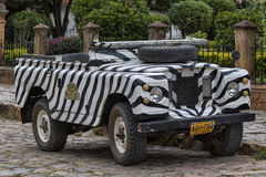 All terrain vehicle in Villa de Leyva Colombia Royalty Free Stock Photography