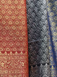 All Thai Silk made from handmade Royalty Free Stock Photos