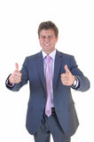 All thumbs up. Stock Photos
