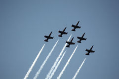 ALL TOGETHER IN FORMATION Stock Image