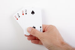 All the twos Stock Photography