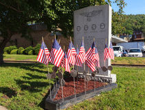 All Wars Memorial Shamokin Coal Township PA Royalty Free Stock Photos