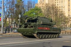 All-weather air defense missile system Buk-M2 Royalty Free Stock Photography