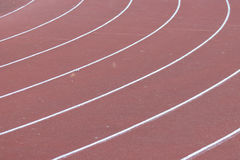 All-weather running track Royalty Free Stock Photos