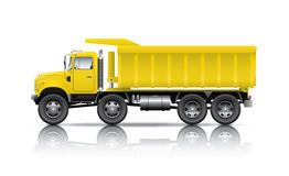 All wheel drive dumper Royalty Free Stock Images