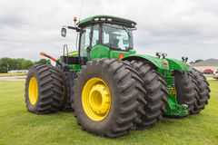 All-Wheel Drive John Deere Farm Tractor Royalty Free Stock Photography