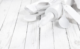 All White baking concept Royalty Free Stock Photography