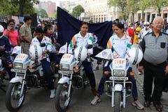 All Women Bike Rally Stock Photography