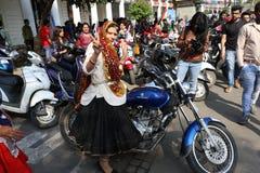 All Women Bike Rally Stock Image