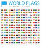 All World Flags - New Additional List of Countries and Territories - Vector Pin Flat Icons. All World Flags Set - New Additional List of Countries and Stock Images