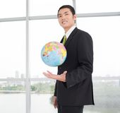 All world in our hands! Royalty Free Stock Image