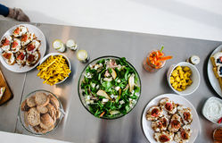 All you can eat brunch Stock Images