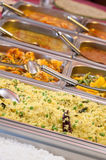 All you can eat lunch buffet choice of meal Royalty Free Stock Photos