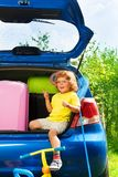 All you need for car vacation Royalty Free Stock Photo