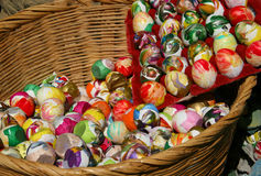 All Your Eggs in One Basket Stock Images