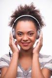 Alla älskar musik Royaltyfria Foton