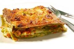 Alla bolognese di lasagne fotografia stock