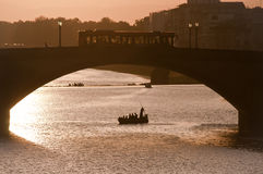 Alla Carraia de Ponte Fotografía de archivo