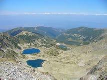 Alla cima della Bulgaria Immagini Stock Libere da Diritti