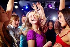 Alla discoteca Immagine Stock