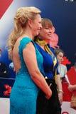 Alla Dovlatova and Natalia Gromushkina at Moscow Film Festival Royalty Free Stock Images