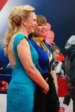Alla Dovlatova and Natalia Gromushkina at Moscow Film Festival Royalty Free Stock Photos