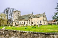 Alla helgon kyrkliga Hovingham North Yorkshire England Royaltyfri Foto