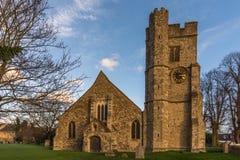 Alla helgon kyrkliga Snodland Arkivfoto