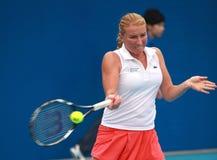 Alla Kudryavtseva, estrela de tênis do russo Imagem de Stock