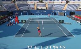 Alla Kudryavtseva (RUS) vs Nadia Petrova (RUS) Royalty Free Stock Images