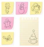 alla lätta lutningar för julcmykklotter grupperade ingen objektrecolour till royaltyfri illustrationer