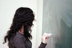 Alla lezione Immagine Stock