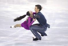 Alla Loboda и Pavel Drozd от России Стоковое Изображение RF