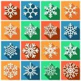alla min gallerisymboler ser var god snowflakes för att besök Stock Illustrationer