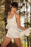 Alla moda elegante elven la bellezza Immagini Stock Libere da Diritti