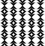 Alla moda moderno del modello senza cuciture geometrico in bianco e nero, sommario Immagini Stock Libere da Diritti