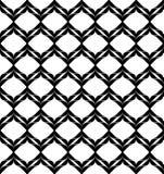Alla moda moderno del modello senza cuciture geometrico in bianco e nero, sommario Immagini Stock
