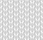 Alla moda moderno del modello senza cuciture geometrico in bianco e nero, sommario Immagine Stock