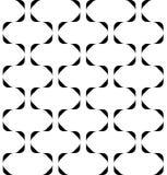 Alla moda moderno del modello senza cuciture geometrico in bianco e nero, sommario Fotografie Stock
