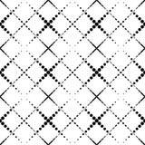 Alla moda moderno del modello senza cuciture geometrico in bianco e nero, sommario Fotografia Stock Libera da Diritti
