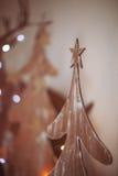 alla några objekt för illustrationen för juldesignelement individuella skalar formattexturer till treevektorn Royaltyfria Bilder