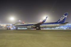 Alla Nippon flygbolag ANA Fotografering för Bildbyråer