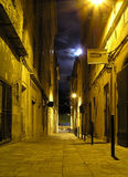 Alla notte Immagini Stock Libere da Diritti