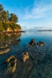 Alla punta del Borneo Fotografia Stock
