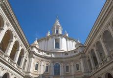 Alla Sapienza de Ivo do ` de Sant, Roma, Itália imagens de stock royalty free
