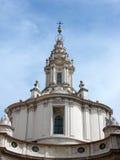 Alla Sapienza, Rome van Sant'Ivo stock afbeeldingen